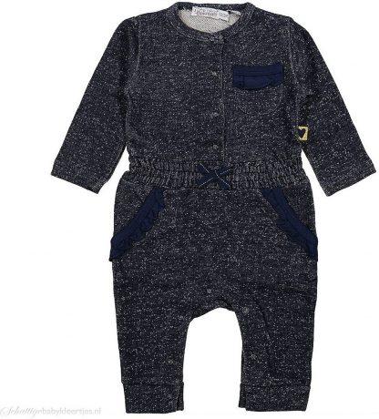 Dirkje babykleding meisjes jumpsuit Little Lady navy maat 62