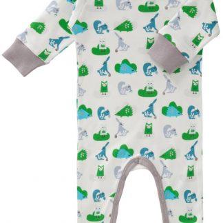 Fresk pyjama met voet Ekhorn greenn 0-3 maand