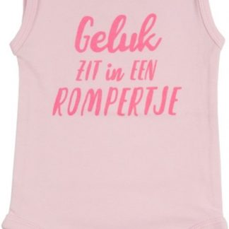 Fun2Wear Romper Geluk Barely Pink Maat 50