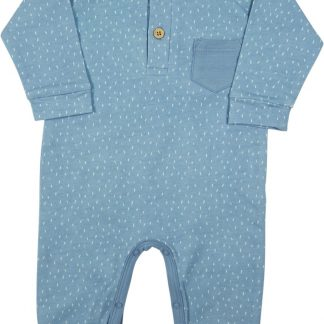 Little Dutch, jongen, boxpak - blauw - maat 68