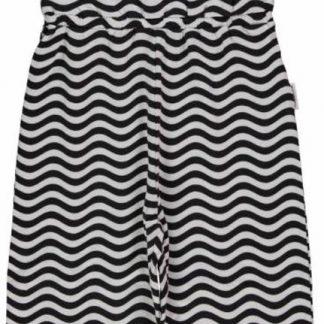 Maxomorra Jumpsuit Waves Black/White 80