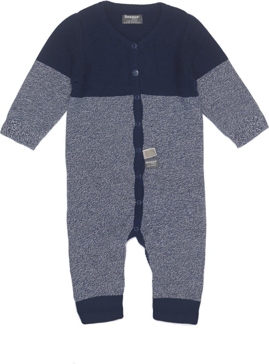 14ea4fed324aa1 Snoozebaby Unisex Boxpakje - Suit knitted Indigo Blue - Maat 68 ...