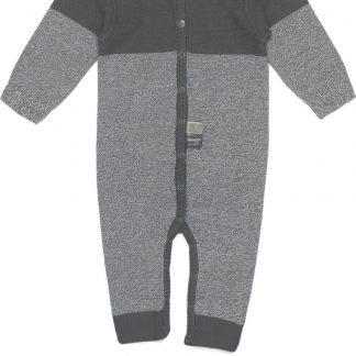Snoozebaby Unisex Boxpakje - Suit knitted Storm Grey - Maat 68