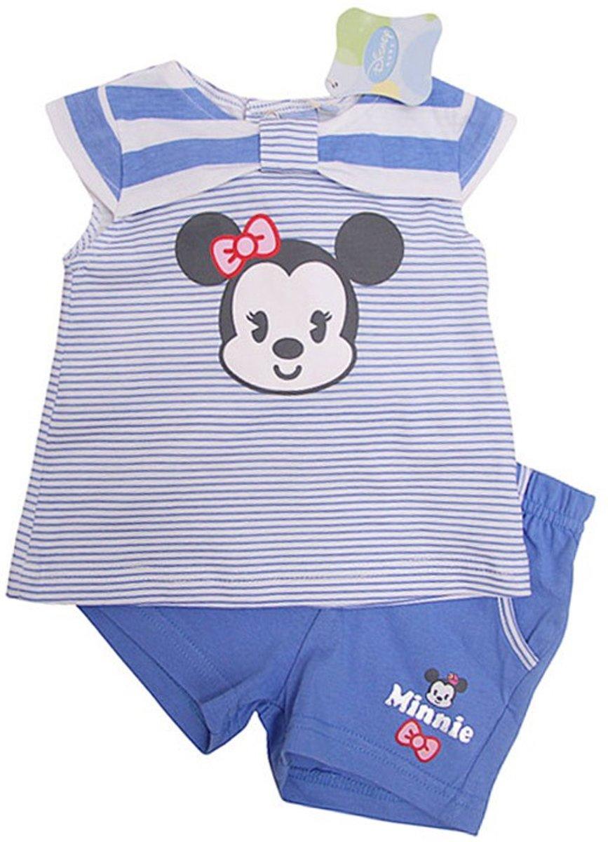 Babykleding 80.Disney Baby Meisjes Set Shirt Korte Broek Maat 80 Babykleding Winkel