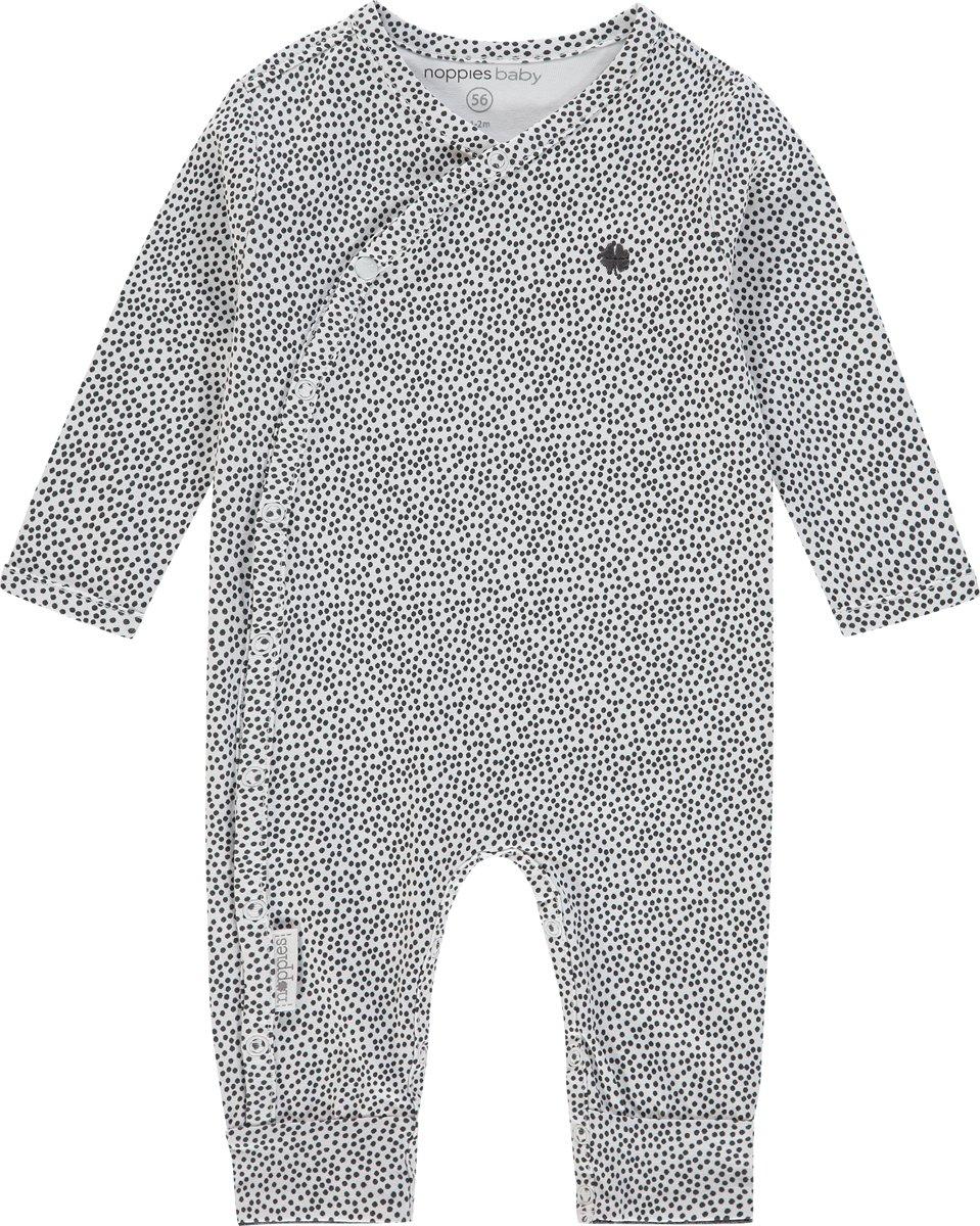 Babykleding Meisje Maat 44.Noppies Boxpak Wit Met Stippen Maat 44 Babykleding Winkel