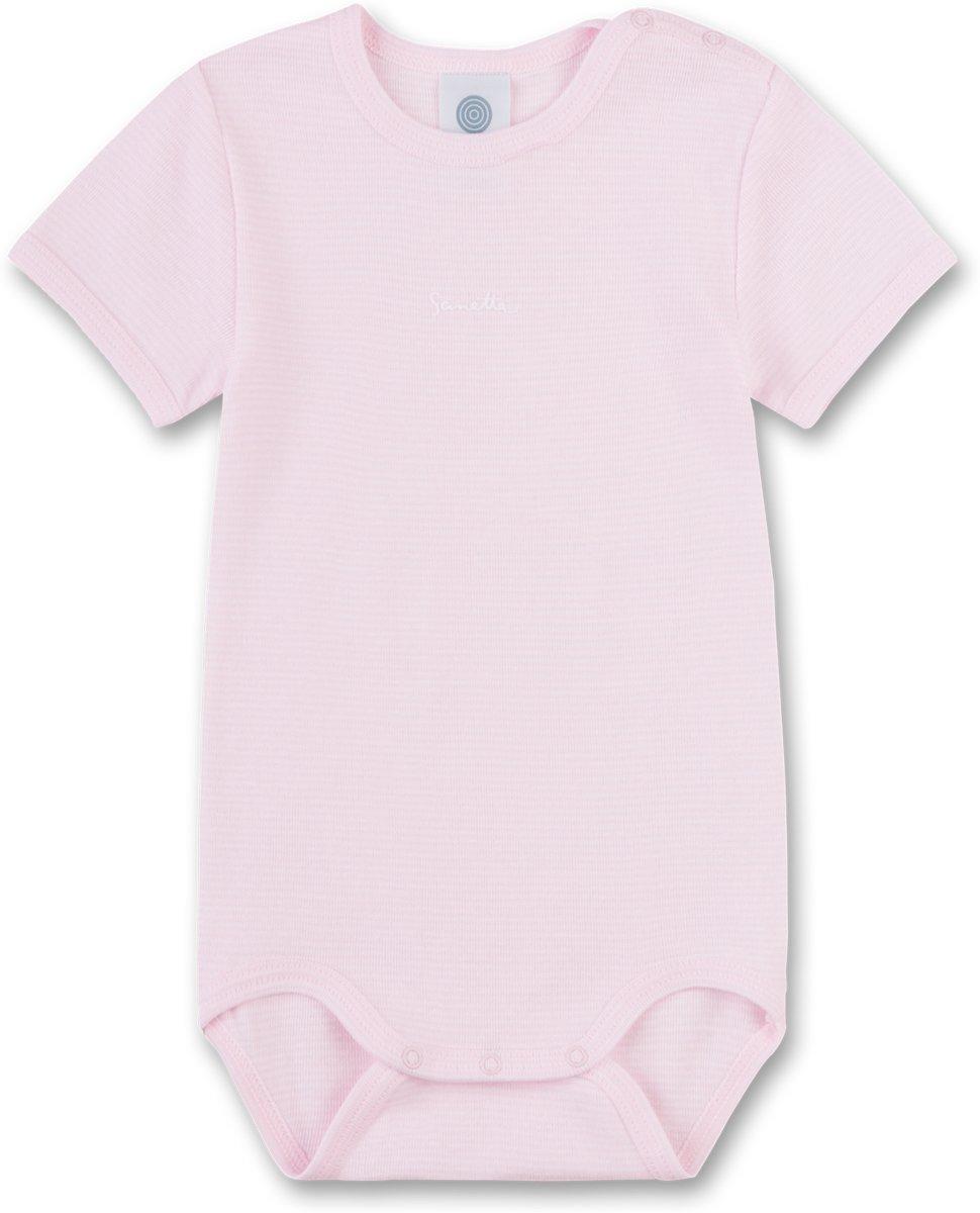 Roze Babykleding.Sanetta Meisjes Rompertje Roze Maat 68 Babykleding Winkel