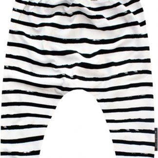 Your Wishes Unisex Broek Stripes - wit - Maat 74/80