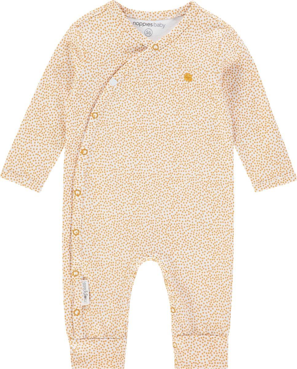 Maat 50 Babykleding.Noppies Boxpak Wit Met Geel Maat 50 Babykleding Winkel