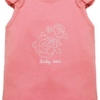 Ducky Beau Baby Top/Singlet - Strawberry Ice - Maat 74