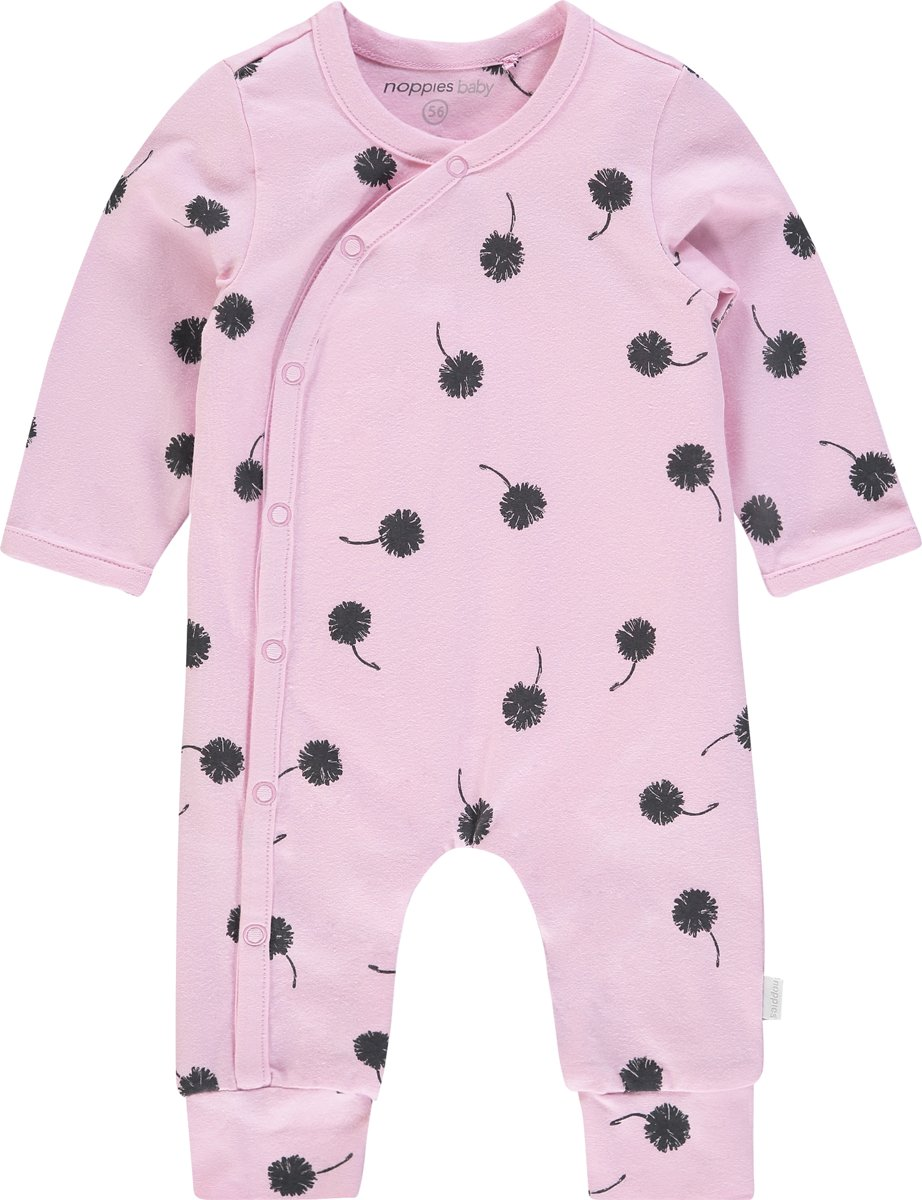 Babykleding Maat 80 Meisje.Noppies Meisjes Boxpak Met All Over Print Pella Pink Mist Maat