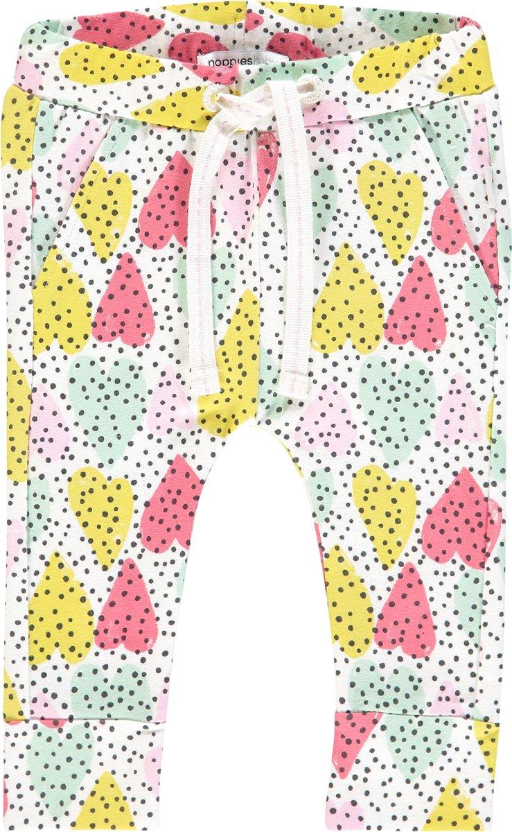 Babykleding Print.Noppies Meisjes Broek Met All Over Print Pocohontas Blanc De Blanc