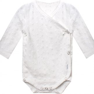 Claesen's Meisjes Rompertje - White Embroidery - Maat 62/68