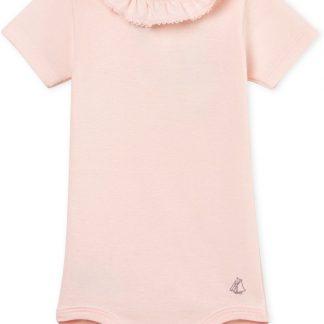 Petit Bateau Meisjes Rompertje - roze - Maat 98