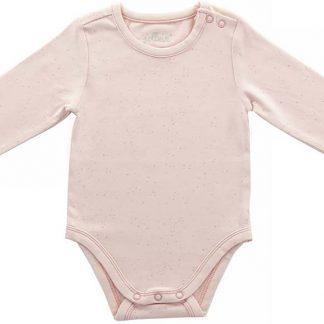 Jollein Mini dots Romper lange mouw blush pink 50/56