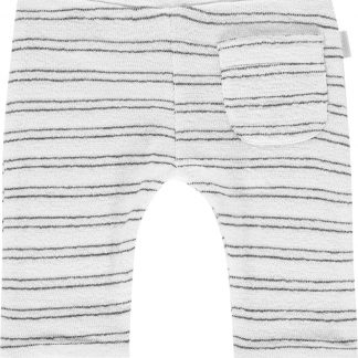 Noppies Unisex Badstof broek Quakertown - Blanc de Blanc - Maat 68