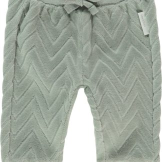 Noppies Unisex Broek zig zag regular fit Quarryville - Belgian Block - Maat 68