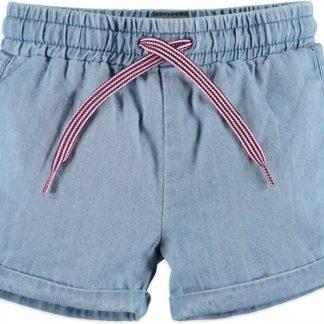 Babyface Meisjes Korte broek - Midden Blauw - Maat 62