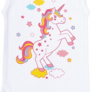 Fun2Wear unicorn romper wit maat 86/92