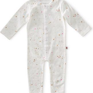 Little Label - babypakje - off white caramel pink stars