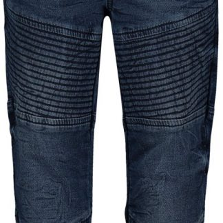 Noppies Broek Bristol - Medium Blue Wash - Maat 80