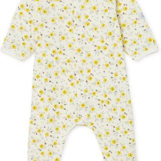 Petit Bateau Meisjes Baby Boxpak - geel - Maat 3 mnd (60 cm)