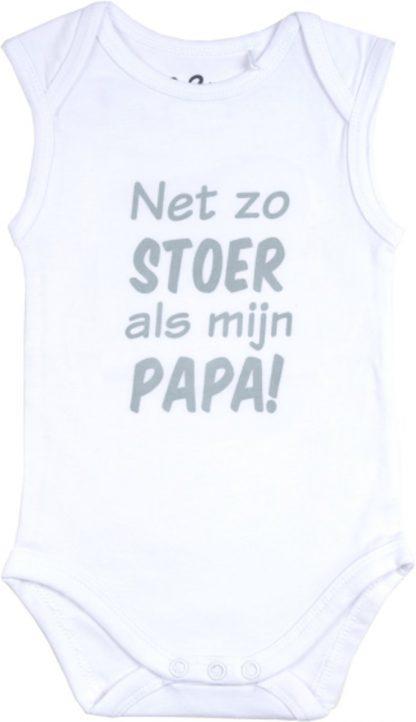 Fun2Wear Romper Net als papa White maat 56