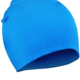2 Stuks Comfortabele Babymuts - Sky Blue - 19X19cm - Elastaan - Zacht - Warm - Herfst - Winter - Kindermuts