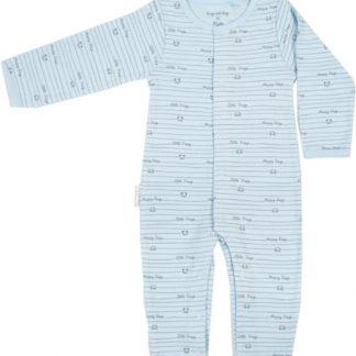 Baby - newborn - boxpak - onesie - kraamcadeau - collectie Frogs en Dogs - blauw - maat 50