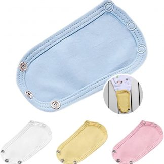 Hiden   Baby Romper Extender - Verlengstuk - Baby & Verzorging - Kleding   Wit