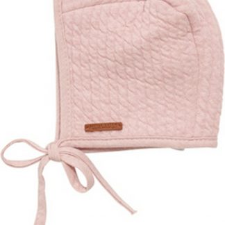 Little Dutch Babymuts met touwtjes - PURE PINK