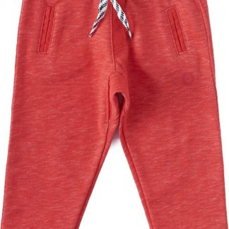 Little Label Unisex Broek - almost red - Maat 62/68