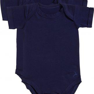 Ten Cate Baby 2Pack Basic Romper 30045 blauw-62/68