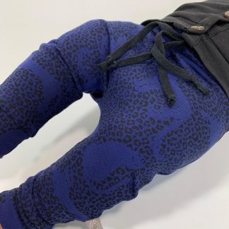 tinymoon Unisex Broek - model drop crotch - Kotiya Koto - Blauw - Maat 62/68