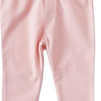 Little Label Meisjes Broek - uni pink - Maat 50/62