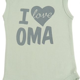Fun2Wear Romper love oma Green maat 74