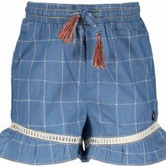 Like Flo Meisjes korte broeken Like Flo Flo baby girls check denim short denim 68