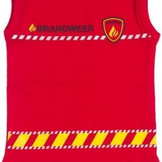 Fun2Wear Unisex Brandweer Romper - Rood - Maat 68
