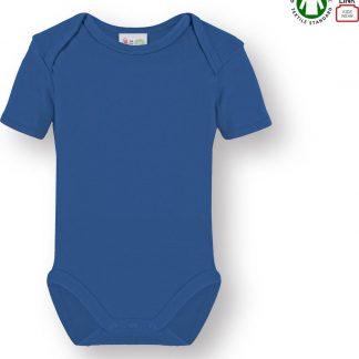 Link Kidswear Jongens Romper GOTS - Donker Blauw - Maat 50/56