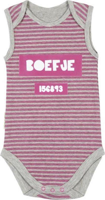 Frogs & Dogs Meisjes Romper Boefje - Roze - Maat 62/68