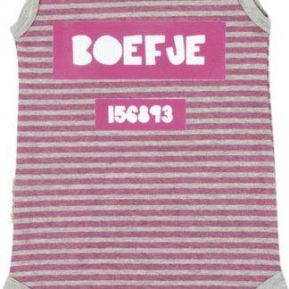 Frogs & Dogs Meisjes Romper Boefje - Roze - Maat 74/80