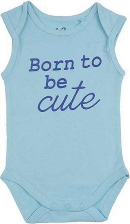 Fun2Wear Romper Born Cute Petit Four maat 68