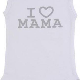 Fun2Wear Romper Love Mama white maat 68