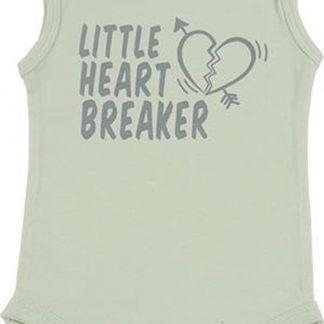 Fun2Wear Romper little heart Green maat 68