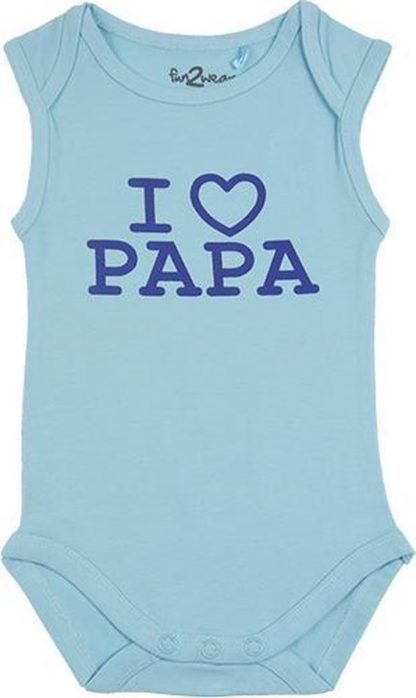 Fun2Wear Romper love papa Petit Four maat 62