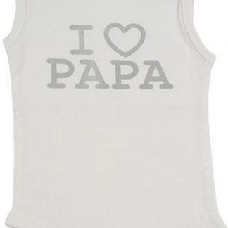 Fun2Wear Romper love papa offwhite maat 62