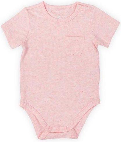 Jollein Meisjes Rompertje - Speckled pink - Maat 74/80