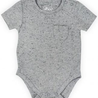 Jollein Unisex Rompertje - Speckled grey - Maat 74/80