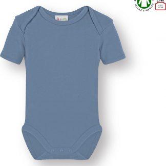 Link Kidswear Jongens Rompertje - Baby Blauw - Maat 50/56