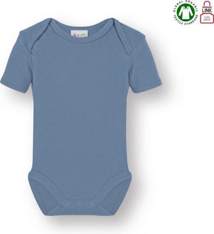 Link Kidswear Jongens Rompertje - Baby Blauw - Maat 74/80