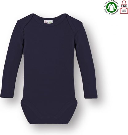 Link Kidswear Jongens Rompertje - Navy - Maat 50/56